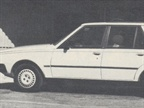 The Renault 18i is offered in a station wagon (pictured) and four-door