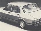 The Saab 900 sedan replaces the 900 five-door hatchback.