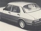 The Saab 900 sedan replaces the 900 five-door hatchback.