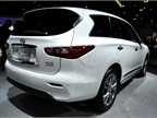 The Infiniti JX is seven-passenger luxury SUV that comes with a 3.5L