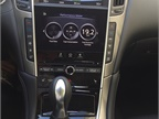 Infiniti s InTouch system uses two displays to deliver an array of