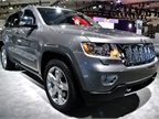 Chrysler had its Jeep Grand Cherokee at the auto show. FOr 2013,