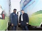 The Dean Foods fleet operates 12,100 vehicles. Of these, approximately