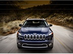 The all-new 2014 Jeep Cherokee comes in four models, the Jeep Cherokee Sport, Cherokee Latitude, Cherokee Limited, and the Trail Rated Jeep Cherokee Trailhawk. Photo courtesy Chrysler.