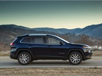 The 2014 Jeep Cherokee uses 65% high-strength steel in its body