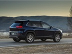 The Cherokee offers a cargo management system that features a