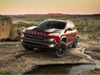 This model is the Trail-Rated Jeep Cherokee Trailhawk, which features