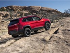 The Jeep Cherokee Trailhawk is Trail Rated, wich means the vehicle can