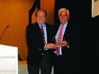 Stuart Angert (right) was awarded the IARA Circle of Excellence Award,