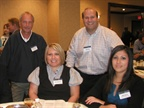 Fleet representatives from Houston energy companies networked with