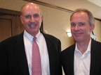 PHH Arval President & CEO George Kilroy (left) and Greg Stanford,