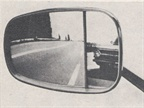 This 1970 patented split glass feature of the Zonetti mirrors were