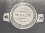 A precursor surely to today s video backup monitor, the Back-Alert