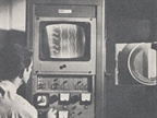 [1970] This was a newly developed instrument which X-rays a tire and