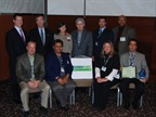 Public Sector Environmental Leadership Award winners attending the