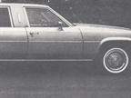 Series 450 Saloon limousine built by American Pullman Coachbuilders.