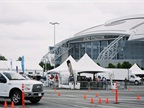 The product drive took place at AT&T Stadium, where attendees