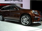 Mercedes showed its high-end AMG models at the auto show, one of which