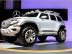 Mercedes also brought a unique concept vehicle called the Ener-G-Force