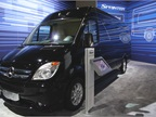 The Mercedes-Benz Sprinter van.