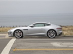 The 2015 F-Type R comes with standard rear-wheel drive. The 2016 model