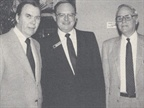 (left to right) Chrysler, leasing executives Frank Hazelroth, Ivan