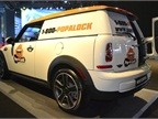The Mini Clubvan comes with a 1.6L engine with maximum hp of 121.