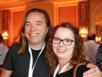 Jim Petrillo of Fujifilm Holdings America and Elizabeth Kelly of