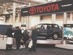 Toyota exhibited its all-new RAV4 sport/utility vehicle at the Fleet