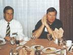 Scott Thredgold (left), fleet manager, and Bob Clarke (center),