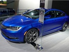 The 2015 Chrysler 200 mid-size sedan is expected to get 35 mpg