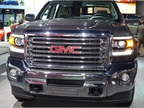The 2015 GMC Canyon mid-size pickup is a cousin of the Chevrolet Colorado.