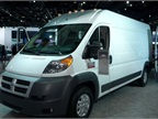 The 2014 Ram ProMaster full-size van arrived in October.