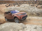 The Discovery uses Terrain Response 2, which offers driving modes for