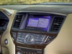 The 2013 Pathfinder features a touch-screen panel that provides access