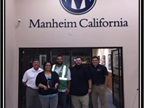2014 CPS Heavy Hammer Award Winner: Manheim California From left:
