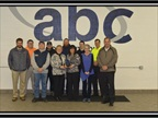 2014 Operational Excellence Award Winner: ABC Toledo Front (left to