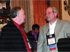 Butch Royall of ABC (left) and Dave Angelicchio of Pittsburgh