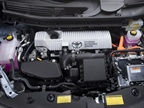 The 2012 Prius V comes with the Hybrid Synergy Drive system available