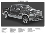 An overview of the new and upgraded features. Source: Ram Trucks