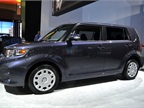 Toyota had its Scion xB at the show.