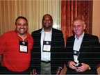 (L-R) Tony Callaway of South Bay Auto Auction, Eric Humphrey, of Union