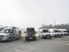 One-quarter of yearly Sprinter sales come from fleets with 250 or more