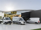 The third-generation Mercedes-Benz Sprinter will be offered in more than 1,700 configurations worldwide.
