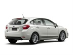 Subaru also increased sedan trunk room and five-door cargo room in the