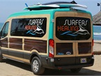Champion surfer Izzy Paskowitz and his Surfers Healing team use a Ford