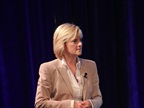 Susan Heystee, Telogis EVP for Worldwide Sales, led a panel discussion