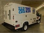 On hand was a Knapheide Transit KUV utility vehicle.