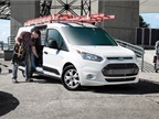 The Ford Transit Connect is available for 2018 as either a small cargo
