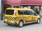 The 2014 Transit Connect Taxi features a 2.5L four-cylinder engine